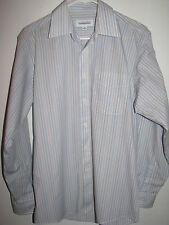 JOSEPH & FEISS INTERNATIONAL MEN'S LONG SLEEVE BUTTON FRONT SHIRT 15 34/35