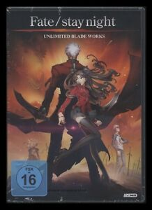 DVD FATE STAY NIGHT - UNLIMITED BLADE WORKS - TYPE-MOON - ANIME *** NEU ***