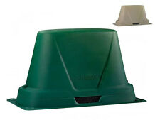 DekoRRa 302C3 XL Size- Backflow Preventer Enclosure - Natural Green Or Tan Color