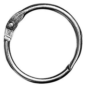 Anneau en métal ouvrable Ø 24 mm Argent - Rayher