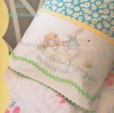 PATTERN -  Here Comes Peter Cottontail - sweet stitchery pillowcase PATTERN