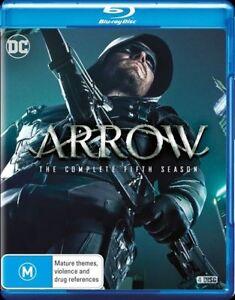 Arrow Season 5 Series FIVE (Blu-ray, 4-Disc Set) BLU RAY - BRAND NEW