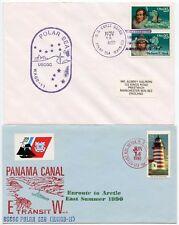 Mar Ártico nave polar USCGC 2 cubre 1990 PANAMA Canal + Guardia Costera