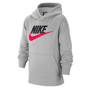 Nike Big Boys Kids Sportswear Club Fleece Athletic Casual Hoodie CJ7861