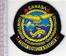 Canada Canadian Coast Guard Search & Rescue SAR Team Canadian CCG Volunteer