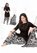 Indian Shalwar Kameez Cotton Dress Material Unstitched Suit D.No BLR614