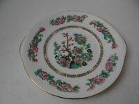 Royal Grafton Indian Tree Cake Plate Tab Handles Made in England Fine Bone China