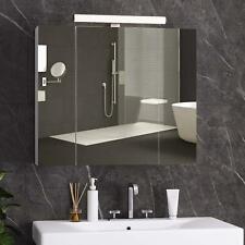 Spiegelschrank Badezimmerschrank Badspiegel 70 x 60 x 15 cm LED DICTAC®
