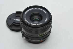 [EXC Canon New FD 35mm f2.8 NFD MF Wide Angle Lens From JAPAN #2391