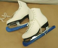 Women'S Riedell Ice Skates With Guards Size 7
