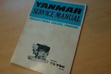 YANMAR MODEL TS TSC DIESEL ENGINE Service Manual Repair shop book marine motor
