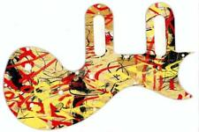 Pickguard  Epiphone Les Paul SL Scratchplate Graphical  Guitar Abstract 1