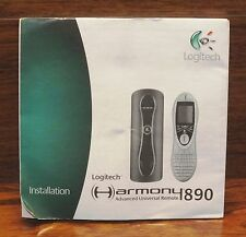 Logitech Harmony Advanced Universal Remote 890 Installation Manual Guide *READ*