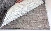 """Felt Rug Pad 3/8"""" Thick for Area Rug on Hardwood Floors Custom Sizes 32 oz Pad"""