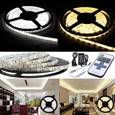 1-20M 5M LED Strip Stripe Streifen Leiste Lichterkette Rolle 60/M IP20 IP65 3528