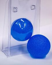 Joblot 10x Wrist Hand Exercise Rehab Physio Squeezy Gel Balls Blue Stress Relief