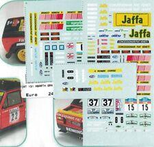 decal 1/43 FIAT ABARTH 131 4 ROMBI VARI RALLYES CAMP.ITALIANO 1978/79 Arena D348