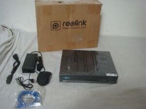 REOLINK RLN8-410 8 CH 2TB HDD PoE NETWORK VIDEO RECORDER SECURITY DVR