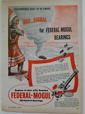 1970 FEDERAL-MOGUL Engine Bearings 70/'s Psychedelic Art NASCAR 500 VINTAGE AD