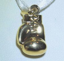 9CT YELLOW GOLD BOXING GLOVE  PENDANT CHARM