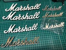 Marshall Guitar Amplifier Logos Script