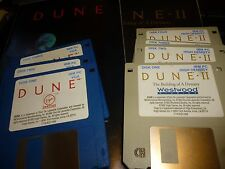"Dune I & II: The Building of A Dynasty IBM PC  3.5""  games & Manuals 1992"