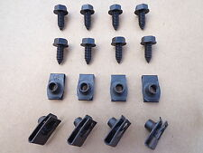8 NEW BODY BOLTS & EXTRUDED U-NUT! FITS FORD MUSTANG THUNDERBIRD BRONCO MERCURY