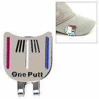 Cap Clip mit Ballmarker Golf Ballmarkierer Golf Hut Clip Cap Mütze Clip Nüt Z3P6