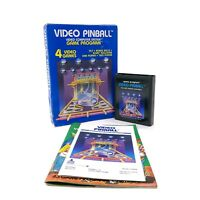 Video Pinball (Atari 2600, 1981) CX2648 CIB Complete in Box w/ Manual Tested