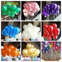100Pcs Pearl Plain Ballons Helium Quality Party Birthday Wedding Decorations
