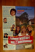 Roy Black...Kino-Poster...Schwarzwaldfahrt aus Liebeskummer