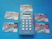 Monopoly Electronic Banking 2007 Replacement Banking Cards And ATM Unit Used