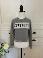Superdry Grey Sweatshirt Jumper (Size S) (P4)