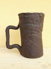 +++ important gothic mortar - wrought iron - Austria, 15th. C. +++