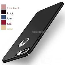 Luxury Ultra Thin Slim Acrylic Hard Back Case Cover Apple iPhone 10 X 8 7 6s 5s