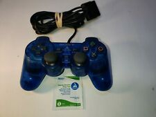 Official SONY CLEAR BLUE CONTROLLER DUALSHOCK 2 - Playstation 2 PS2