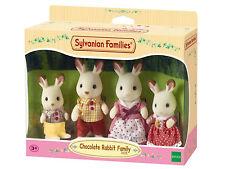 SYLVANIAN FAMILIES Famiglia Conigli Cioccolato -Chocolate Rabbit Family- 4150