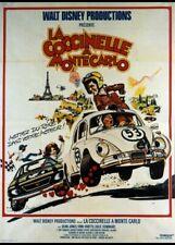 affiche du film COCCINELLE A MONTE CARLO (LA) 120x160 cm