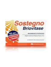 BRIOVITASE SOSTEGNO MAGNESIO E POTASSIO 14 BUSTE + 14 OMAGGIO Ferro, Creatina