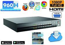 DVR IBRIDO 8 CH FULL 960H HDMI CLOUD VIDEOSORVEGLIANZA VIDEOREGISTRATORE TVCC