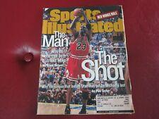 The Shot MICHAEL JORDAN Sports Illustrated Magazine 6/22/98 CHICAGO BULLS