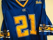 COLOSSEUM ATHLETICS UCLA BRUINS BEAR #21 FOOTBALL JERSEY XXL SPORT Blue & Gold