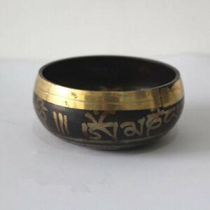 China old Bronze Tibet Buddhist bronze bowl