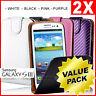 2xPremium Flip Wallet Carbon Fiber Cases Cover For SAMSUNG Galaxy S3 i9300 S III