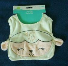 New Baby Easter Teething Bib Lamb