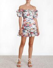 Zimmermann Allia Pintuck Short Dress Size 0 1 2