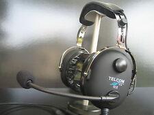 TELCOM TC-50AS Pilote Aviation Casque d'écoute fabriqué en Allemagne