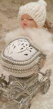 Baby Shower Newborn Faberge egg Onlyone First Grandchild Trinket Music Box 5ct