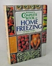Rodale Home Freezing Book Marilyn Hodges Fruit Veg Meat Recipes Preserve Freeze