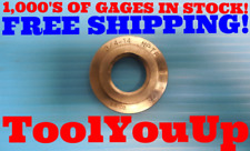 34 14 Nptf Pipe Thread Ring Gage 75 Nptf Inspection Machinist Tooling